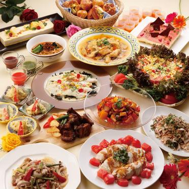 <シャンゼリゼ 6~8月>コンコルドバイキング&パワーフード「健彩美食」