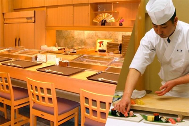 おまかせカウンター寿司